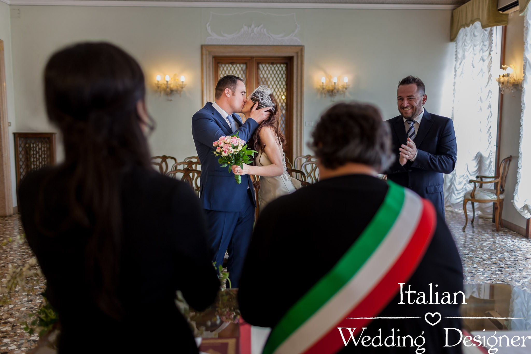 Civil Wedding ceremony in Venice