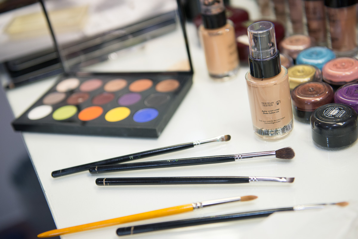 Make-up, country chic wedding in Italy