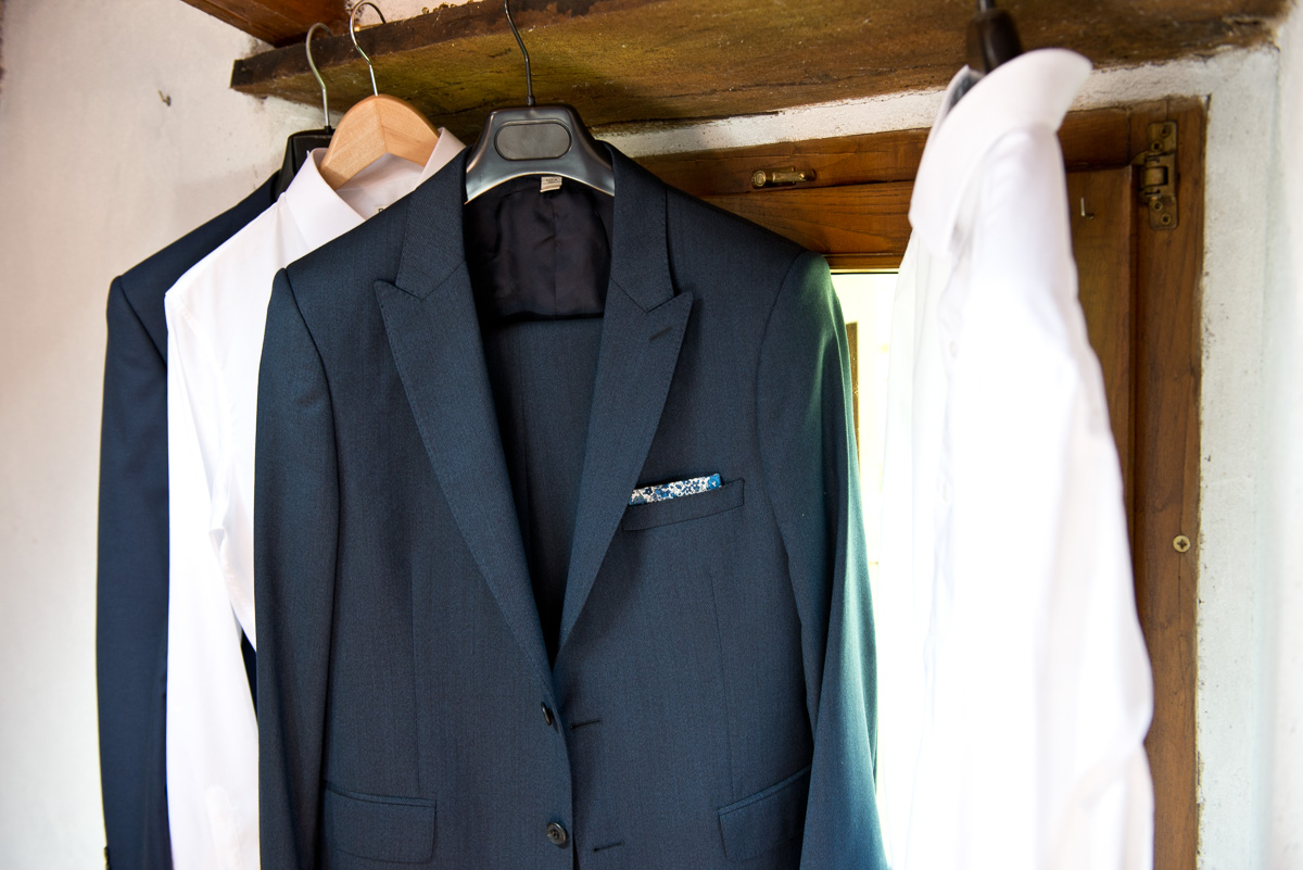 Groom gown, country chic wedding in Italy