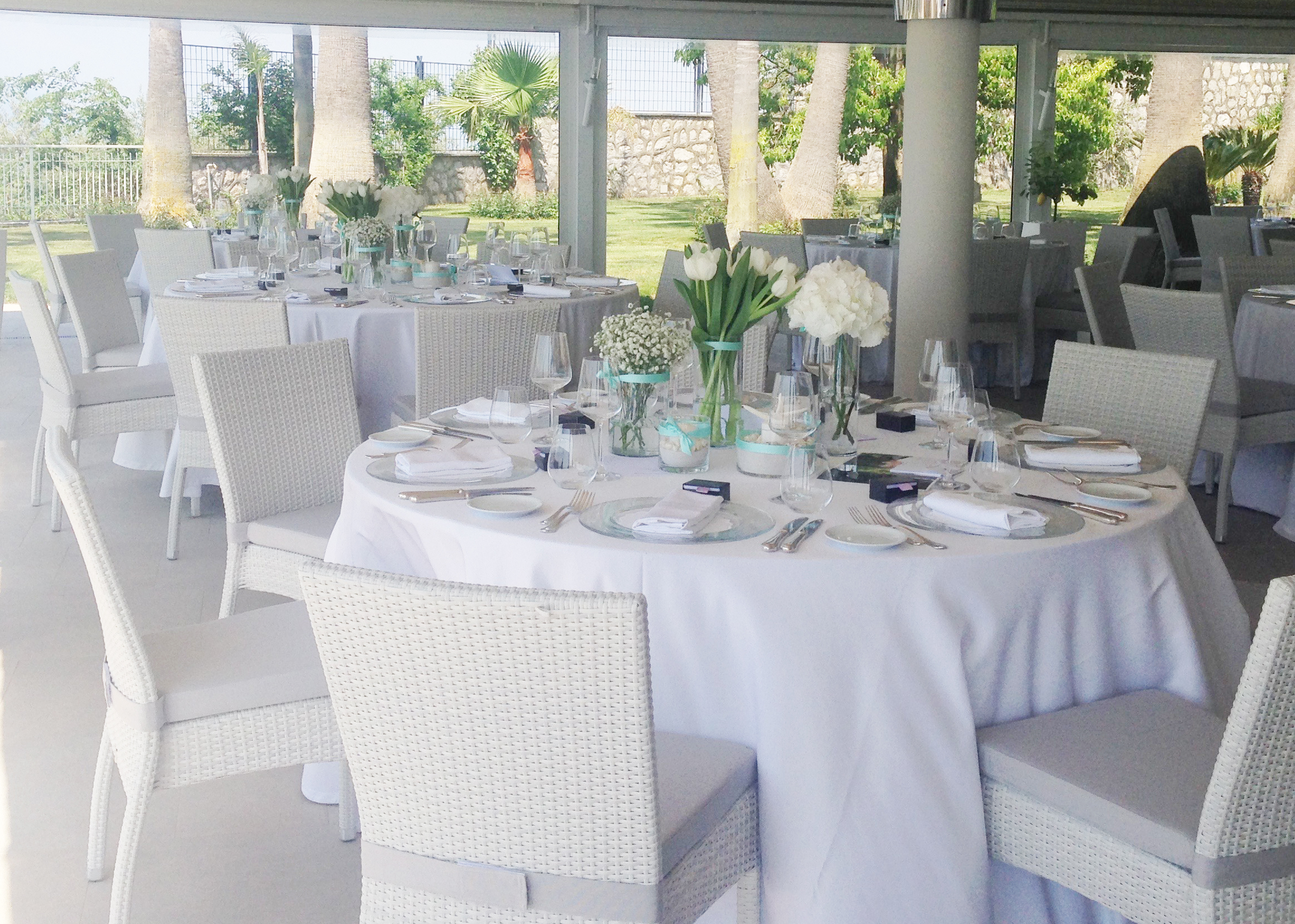 Table setting Wedding in Amalfi Coast