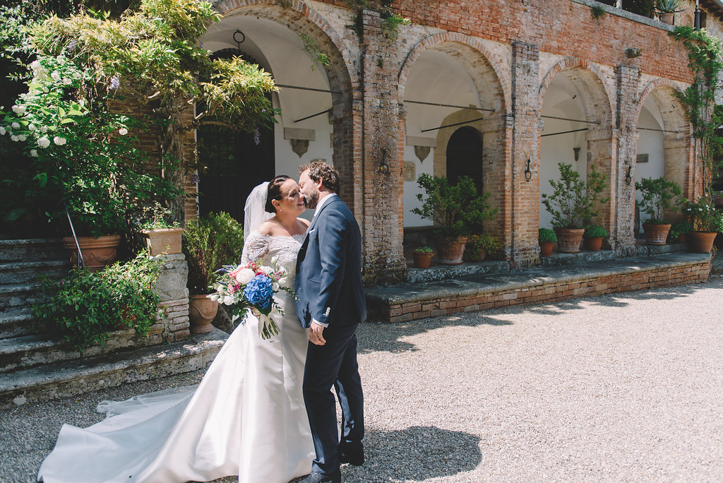 Dutch couple getting married in Italy