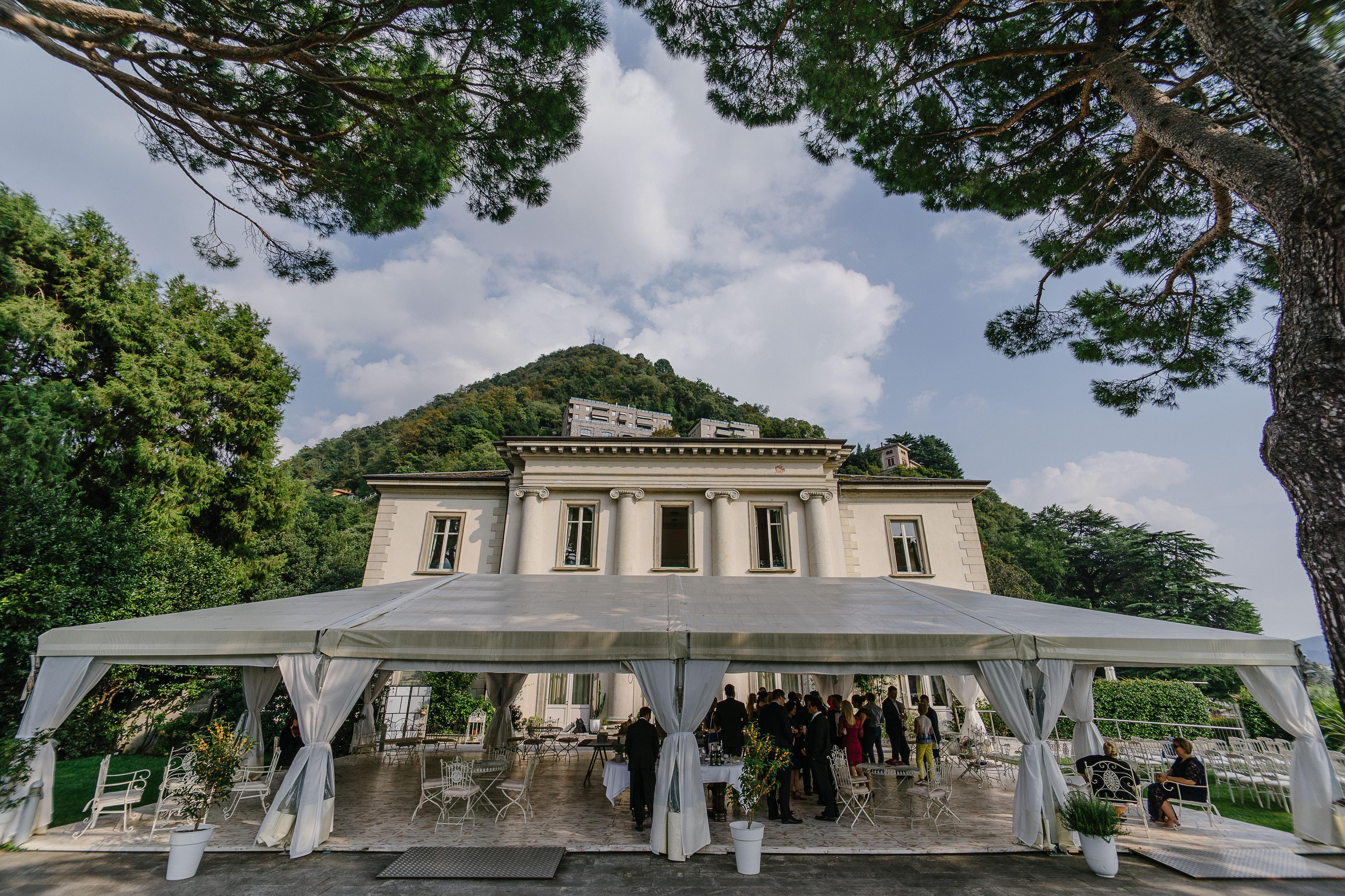 Venue Ceremony in Lake Como by Italian Wedding Designer