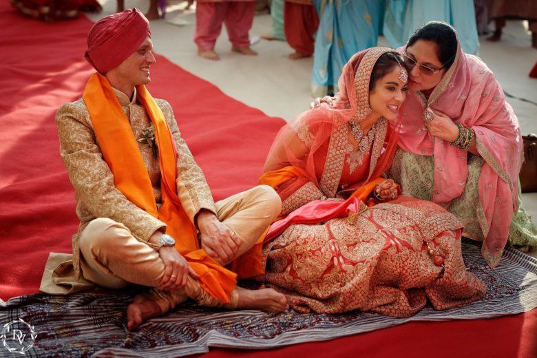 Sikh Ceremony - Italian Wedding Designer
