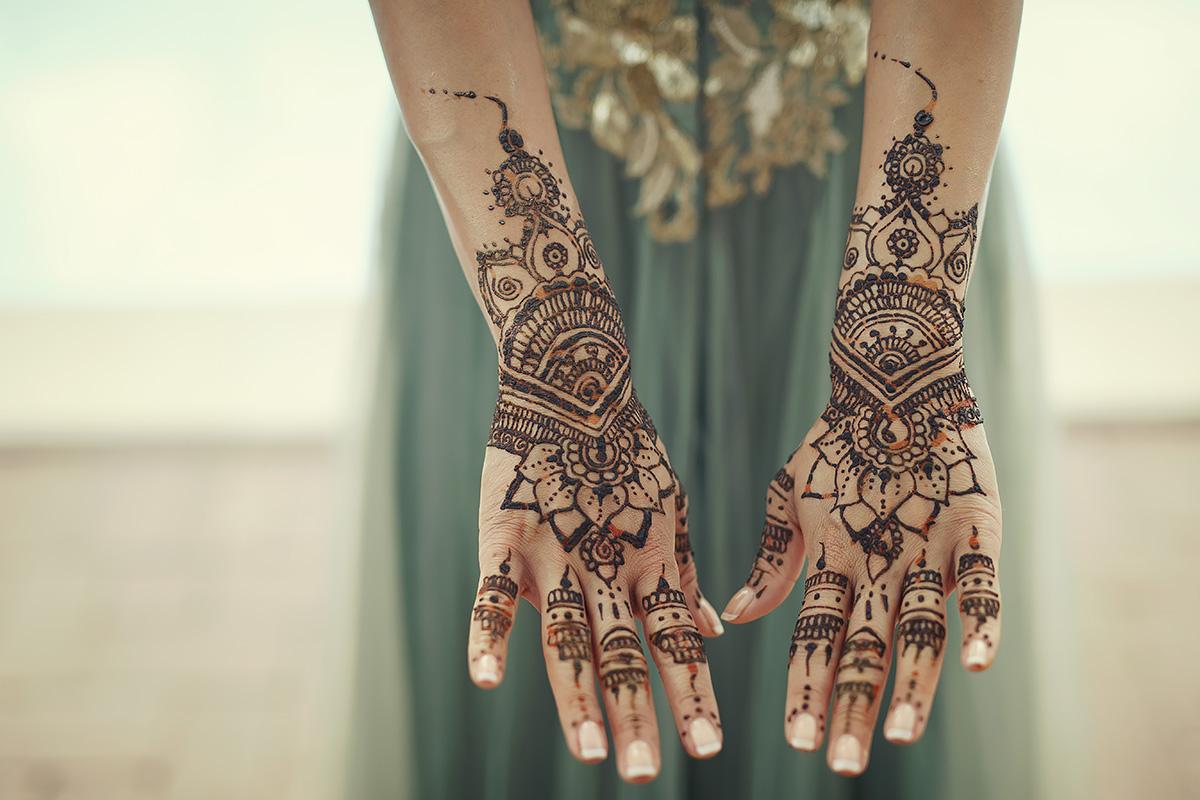 Mehendi Indian Wedding in Tuscany Italian Wedding Designer