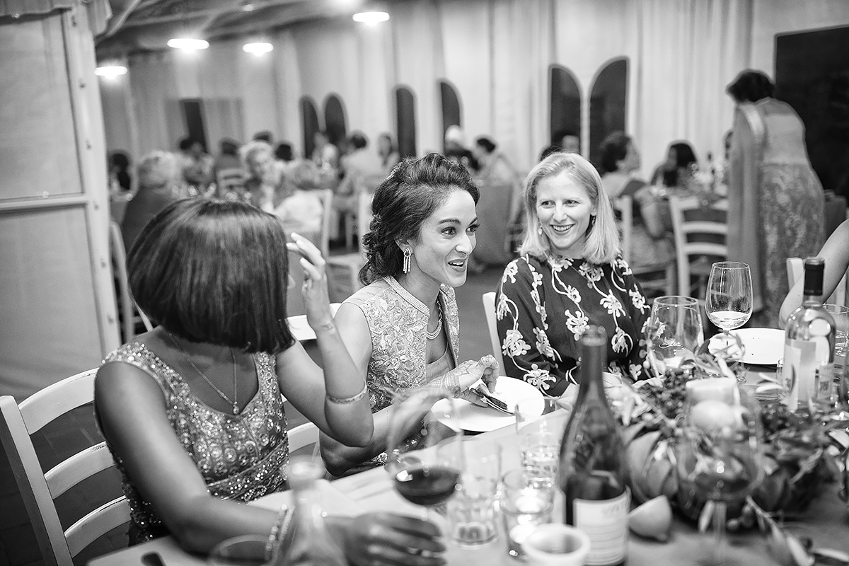 Welcome dinner Indian Wedding in Italy - Italian Wedding Designer
