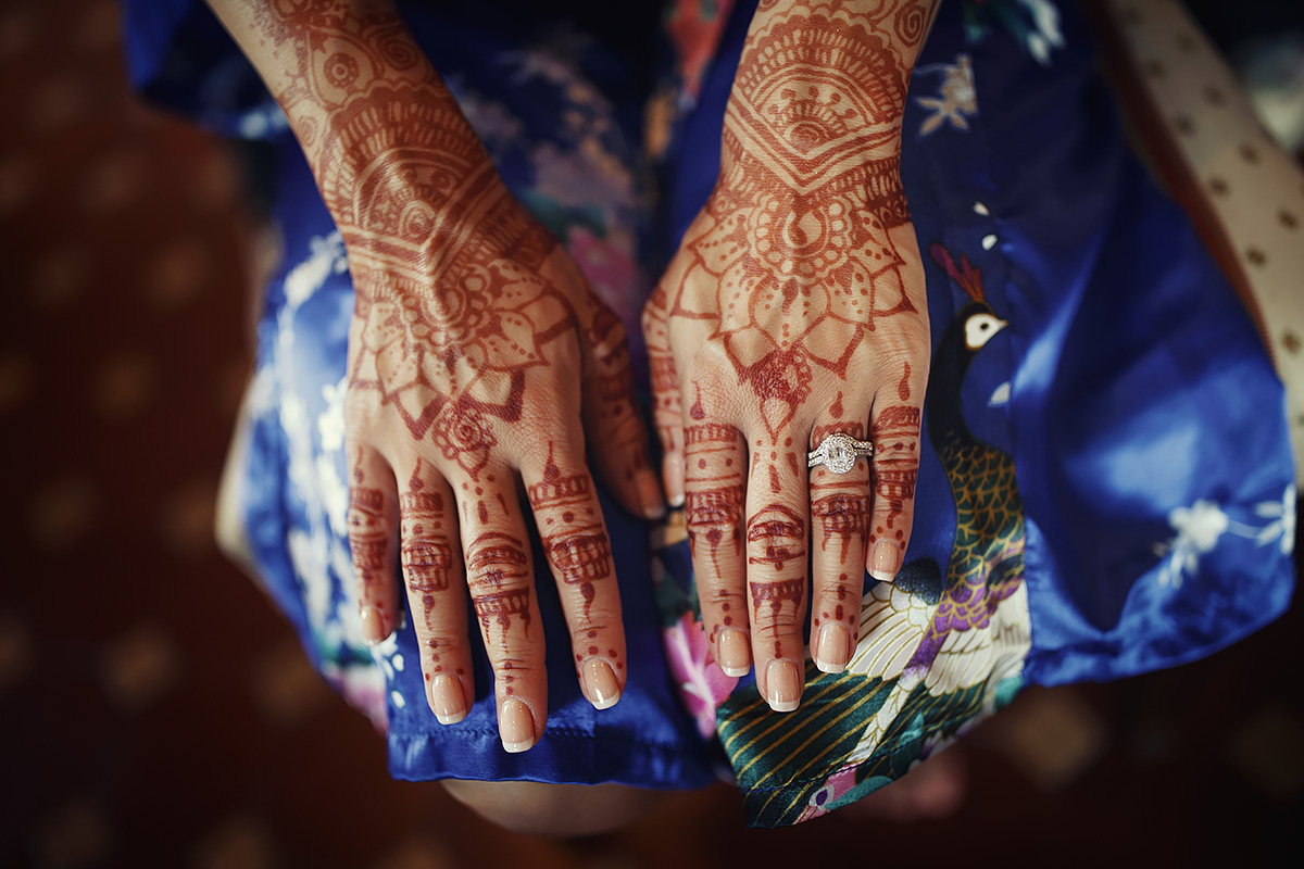 Bride mehendi - Italian Wedding Designer