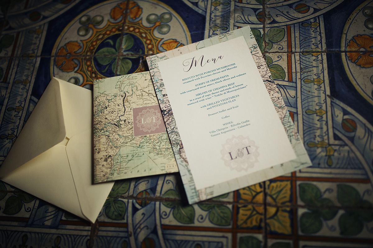 Travel stationery - Italian Wedding Designer