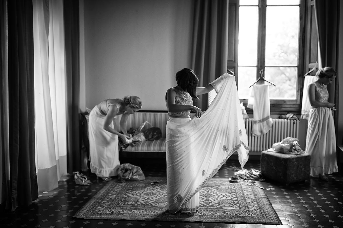 Sikh Bridesmaids - Italian Wedding Designer