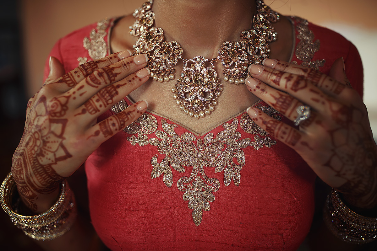 Sikh Bride jewelry - Italian Wedding Designer