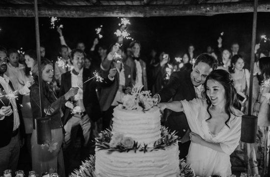 Wedding Cake Cutting - Wedding in Tuscany - Italian Wedding Designer