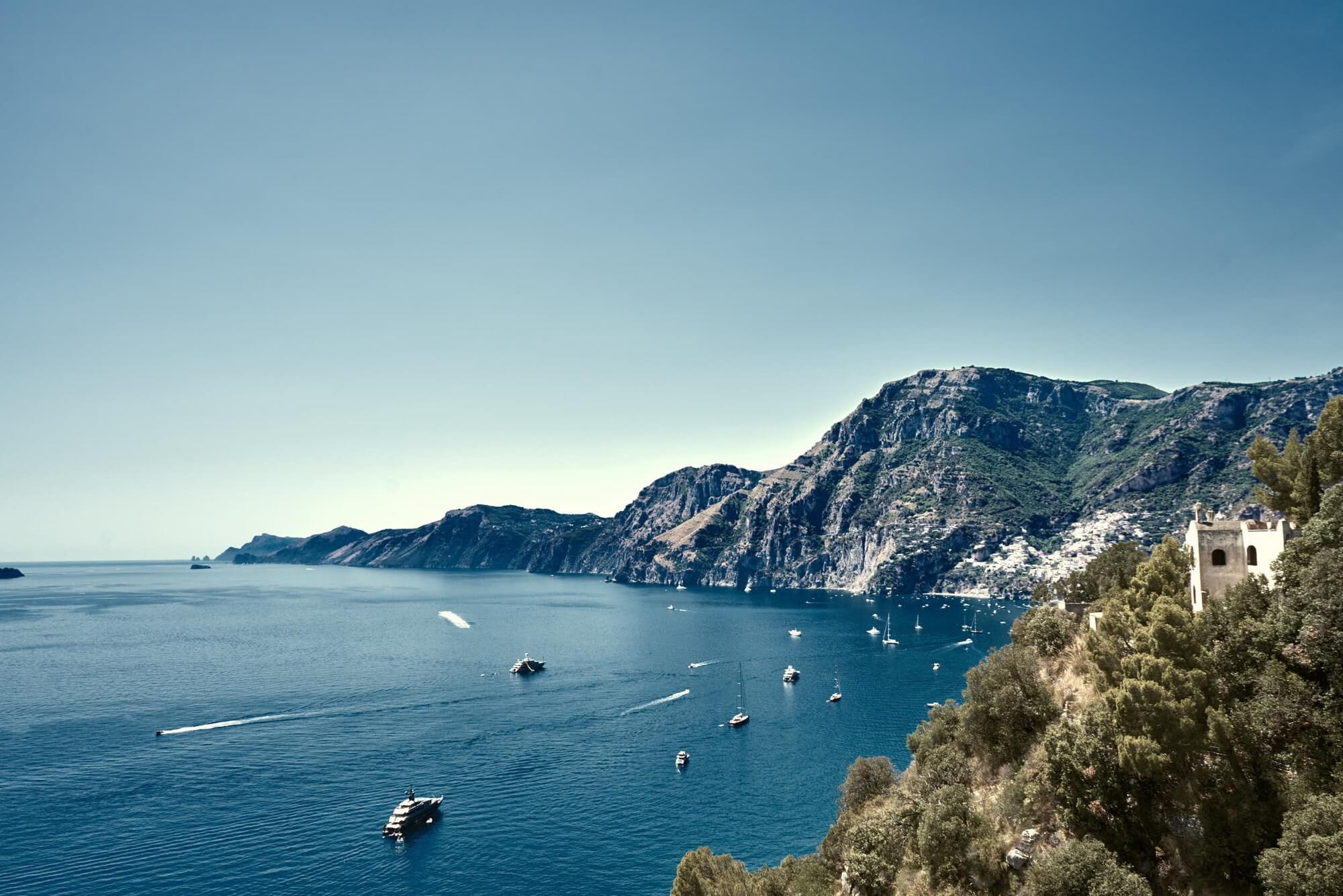 Destination Wedding on the Amalfi Coast & Capri: Ravello, Positano, Sorrento.