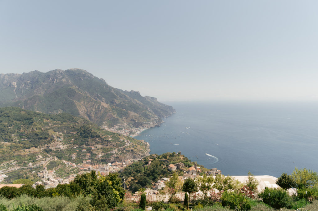 Amalfi coast view - Destination Wedding in Ravello - Italian Wedding Designer