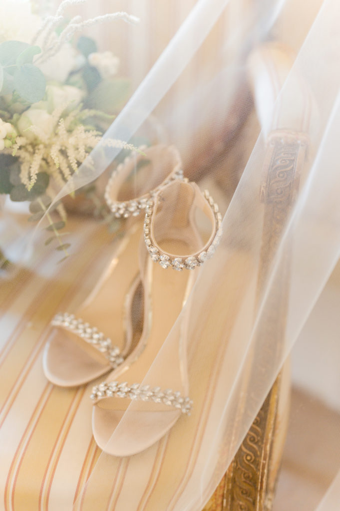 Bridal Shoes - Destination Wedding in Ravello - Italian Wedding Designer