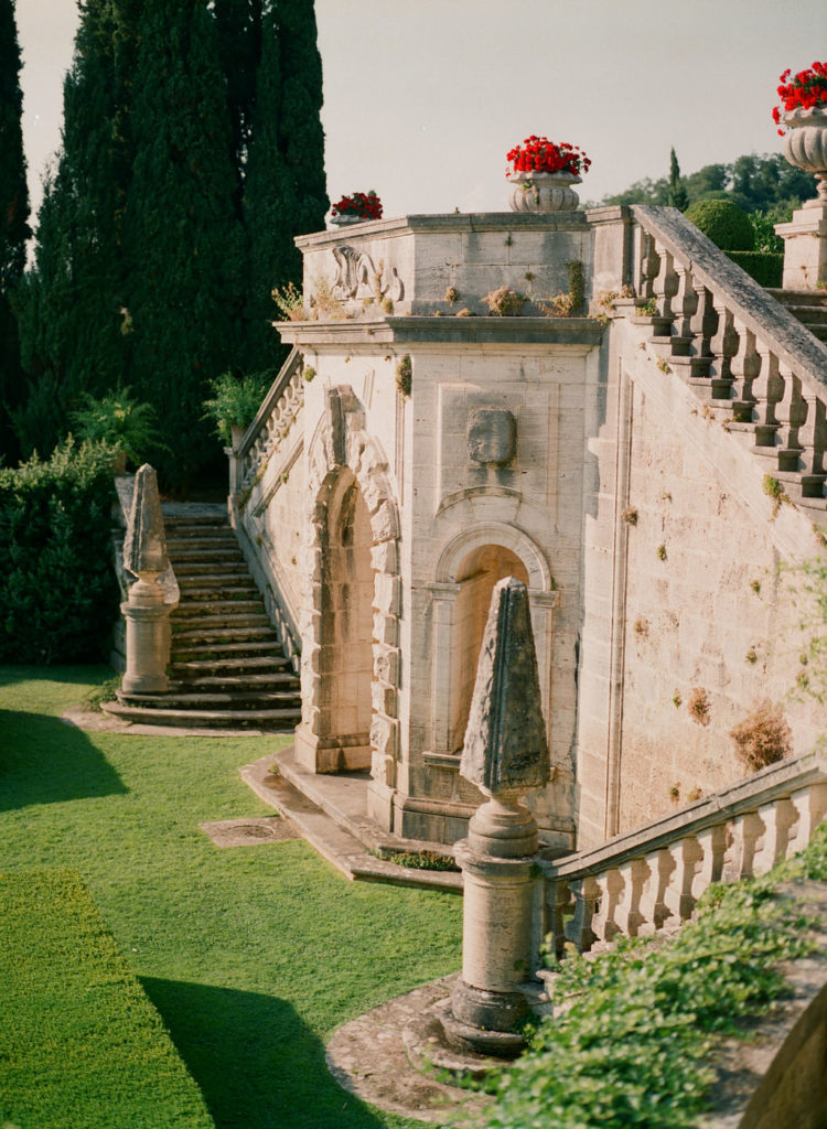 Stairs - Wedding at Villa La Foce - Italian Wedding Designer