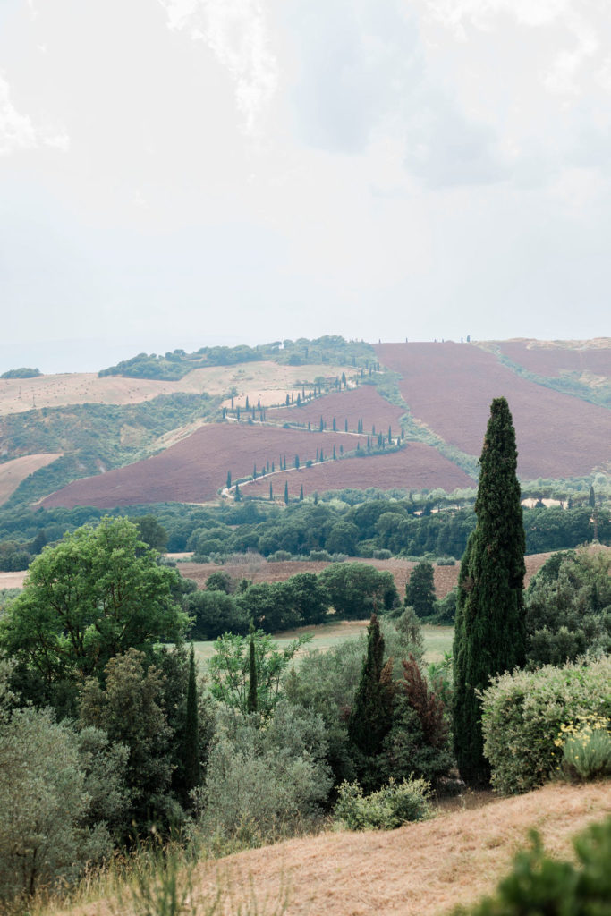 Tuscan Landscape - Wedding at Villa La Foce - Italian Wedding Designer