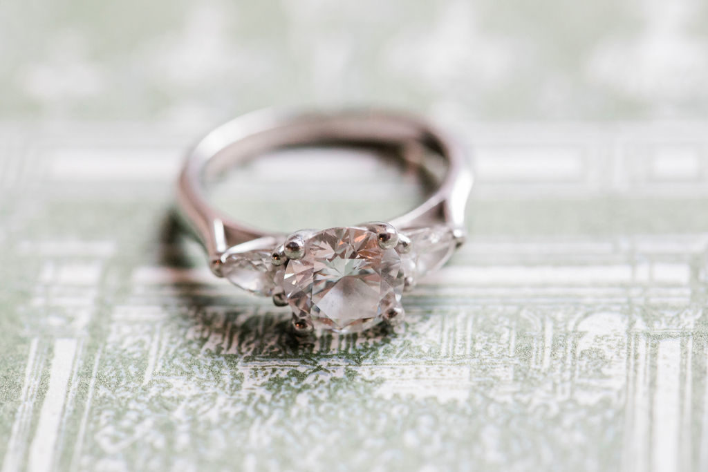 Engagement ring - Wedding at Villa La Foce - Italian Wedding Designer