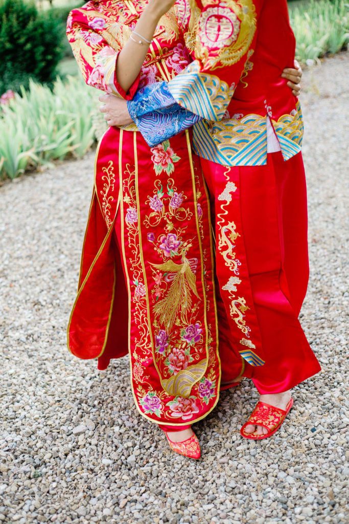 Chinese wedding Dresses - Chinese Tea Ceremony in Italy- Italian Wedding Designer
