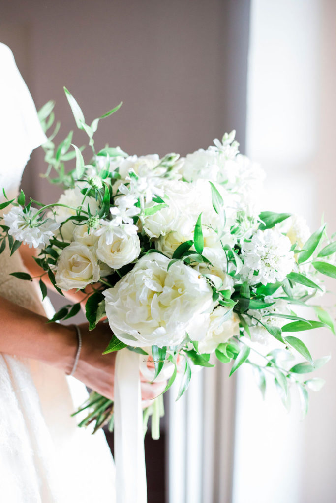 Bridal Bouquet by Flowers Living - Wedding at Villa La Foce - Italian Wedding Designer