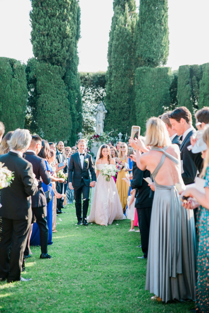 Confetti - Wedding at Villa La Foce - Italian Wedding Designer