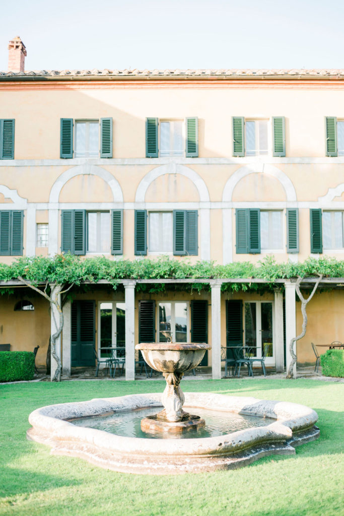 La Foce outdoor - Wedding at Villa La Foce - Italian Wedding Designer