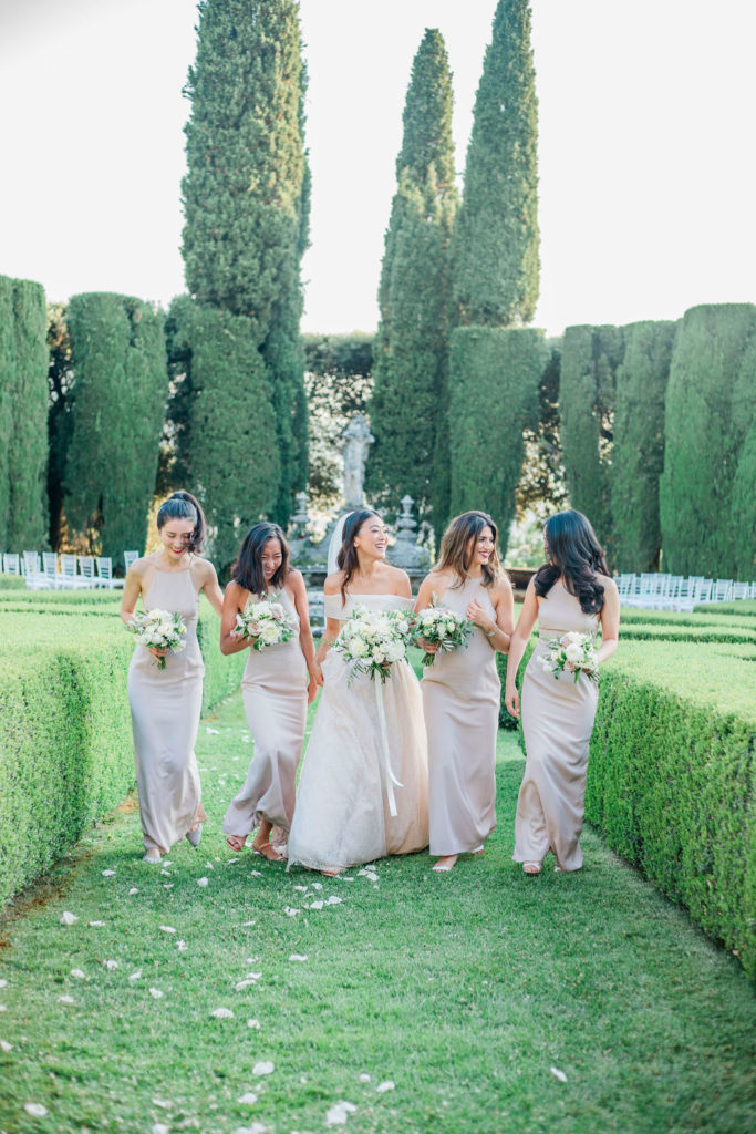 Group photos - Wedding at Villa La Foce - Italian Wedding Designer