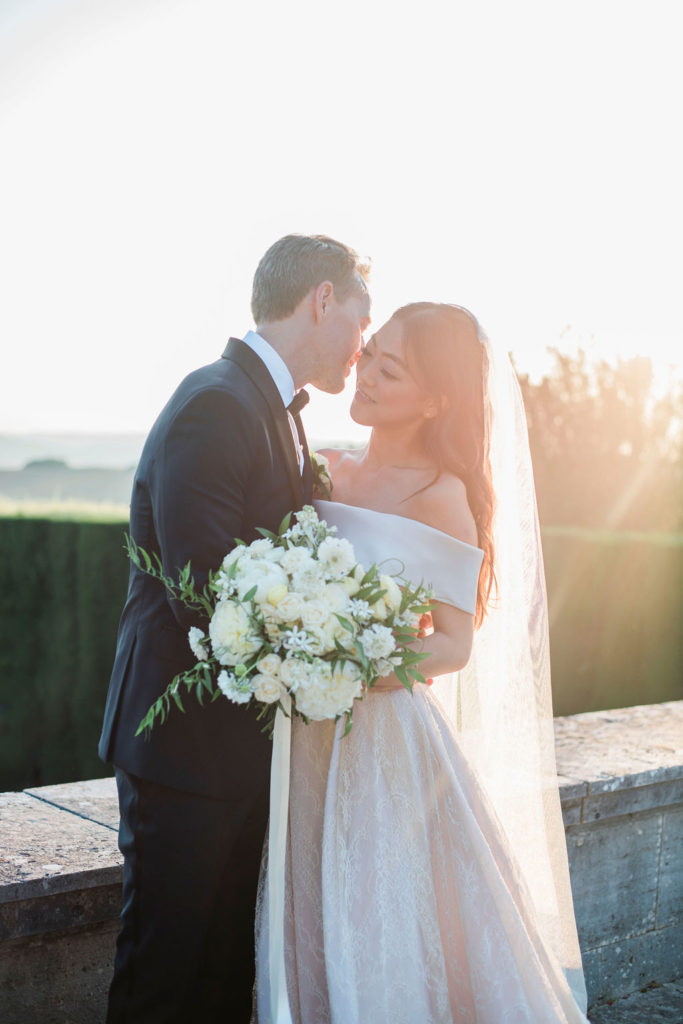 couple photo - Wedding at Villa La Foce - Italian Wedding Designer
