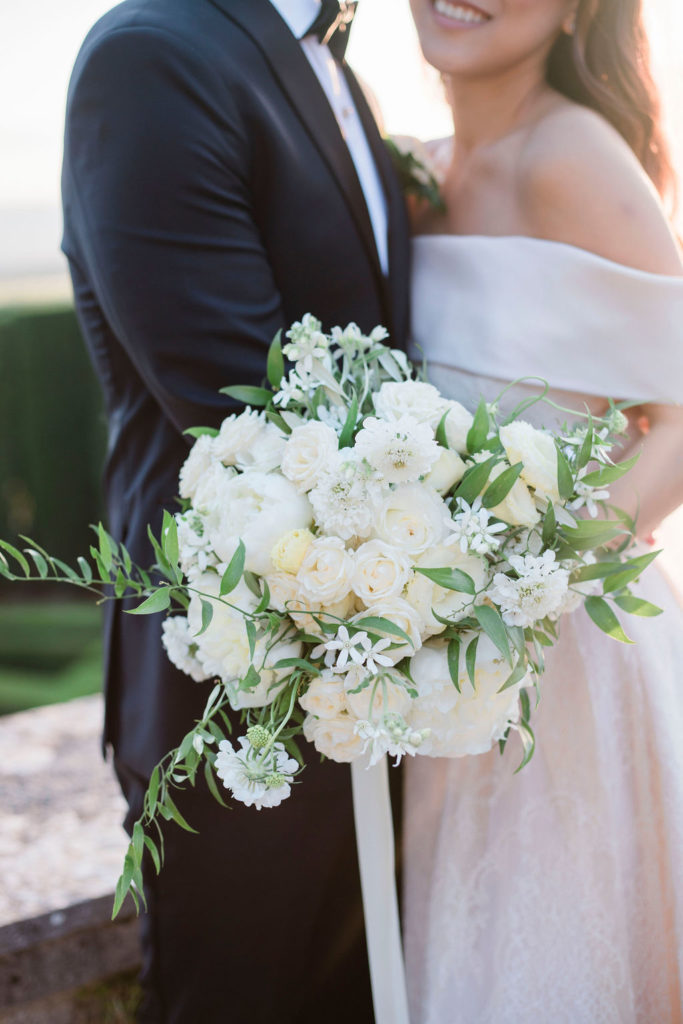 Bridal Bouquet - Wedding at Villa La Foce - Italian Wedding Designer