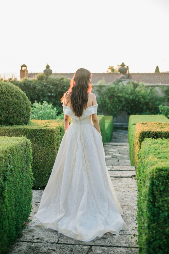 Sunset time - Wedding at Villa La Foce - Italian Wedding Designer