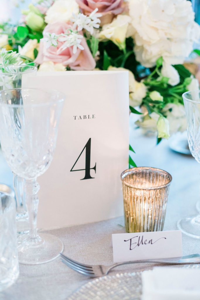 Table name - Wedding at Villa La Foce - Italian Wedding Designer