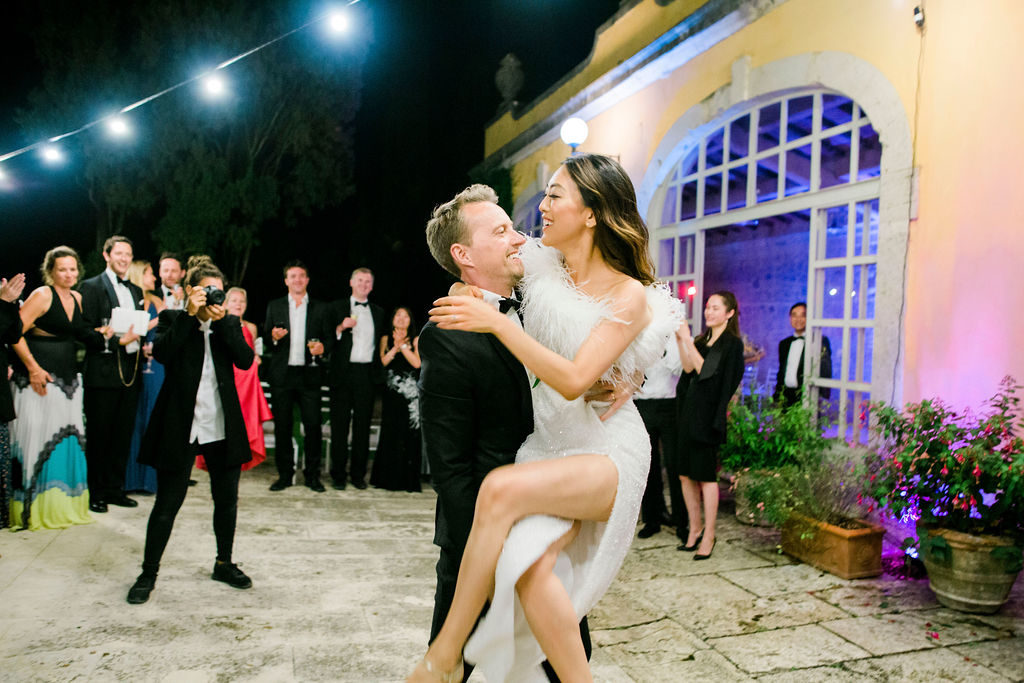 First dance - Wedding at Villa La Foce - Italian Wedding Designer