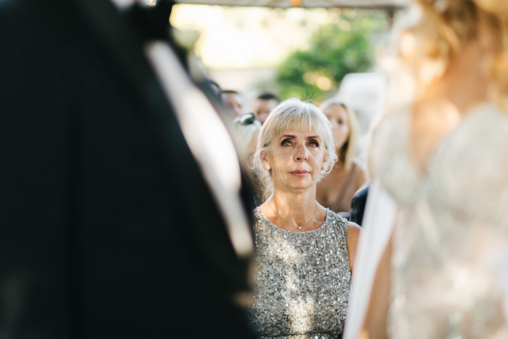 Bride's mum - Wedding at Villa Le Fontanelle - Italian Wedding Designer