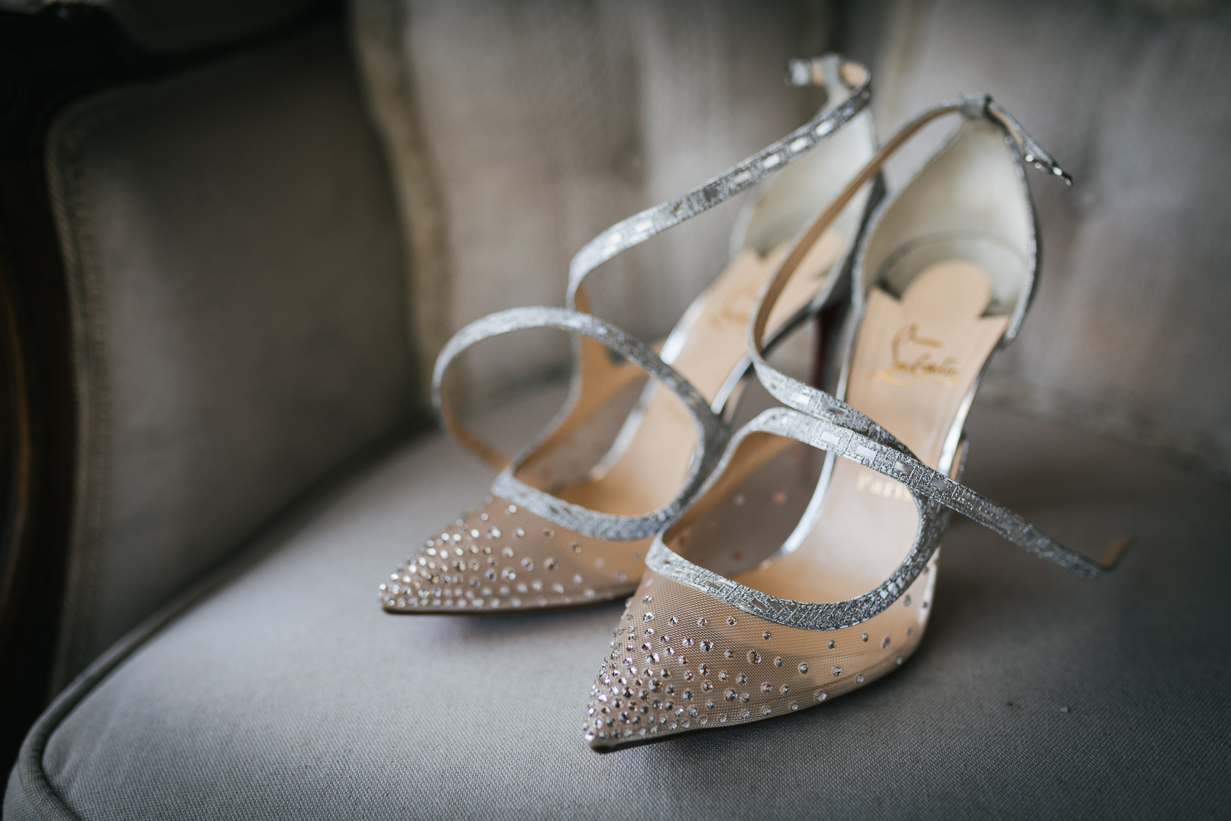 Wedding Shoes at Villa Le Fontanelle
