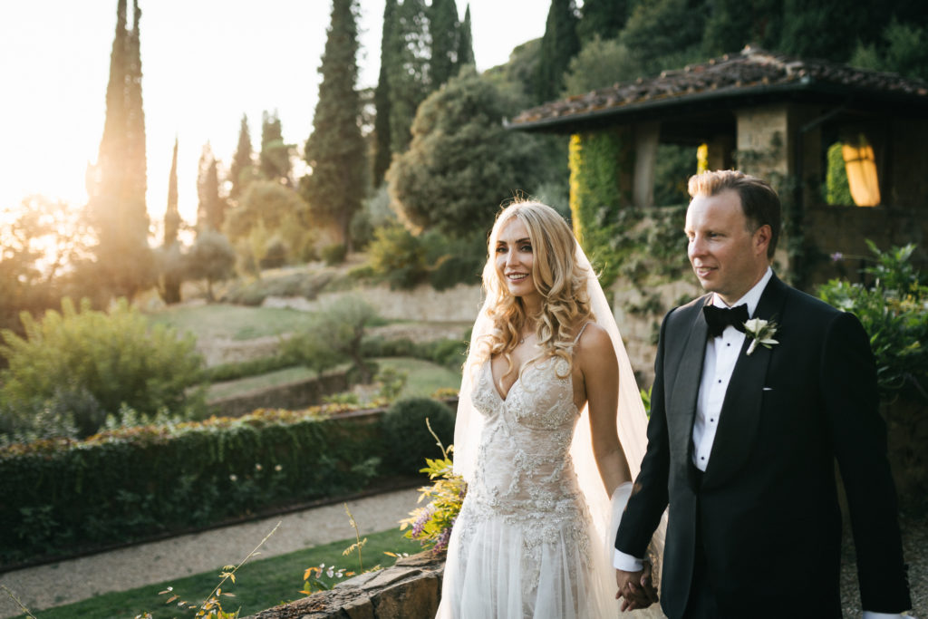 Bridal Portrait - Italian Wedding Designer - Wedding at Villa Le Fontanelle