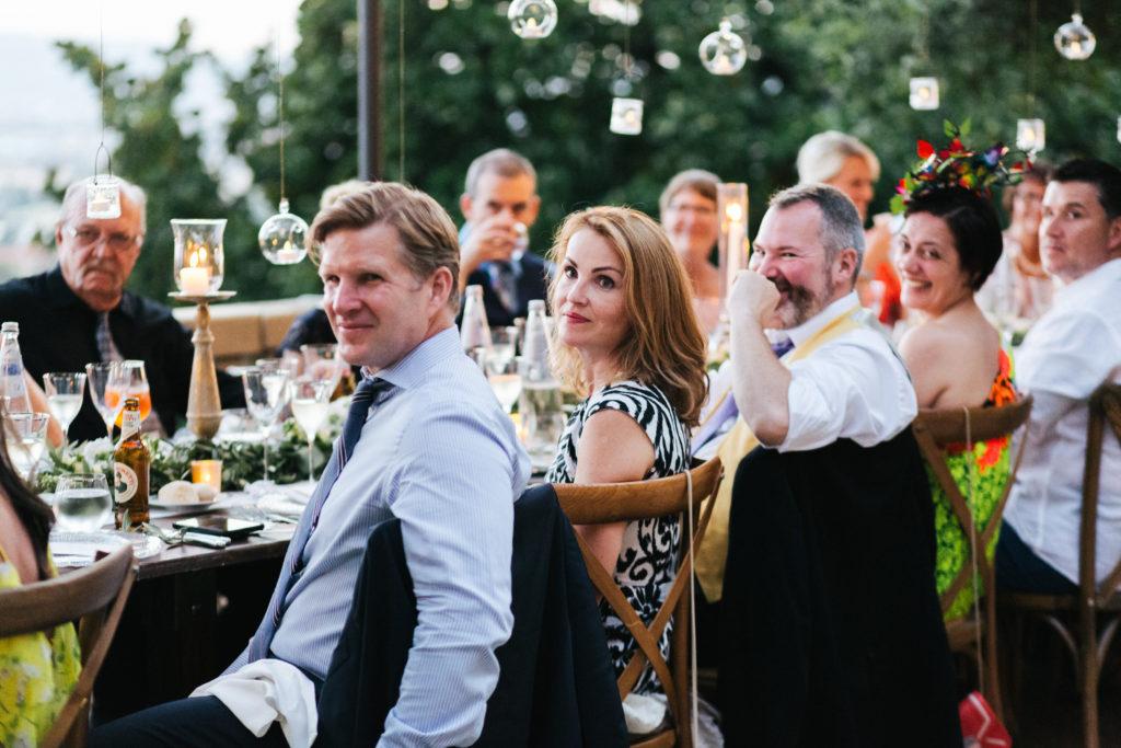 Dinner time - Italian Wedding Designer - Wedding at Villa Le Fontanelle