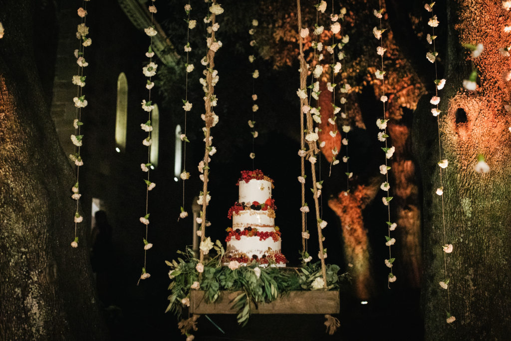 Cake by Sugarcups - Italian Wedding Designer - Wedding at Villa Le Fontanelle