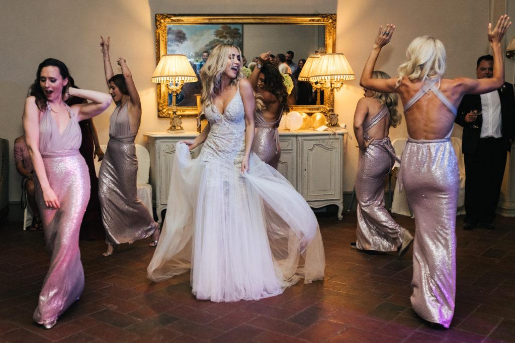Wedding Party - Italian Wedding Designer - Wedding at Villa Le Fontanelle