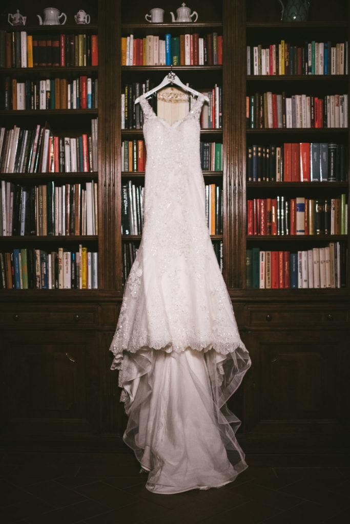 Wedding Dress - Wedding at Villa La Selva - Italian Wedding Designer