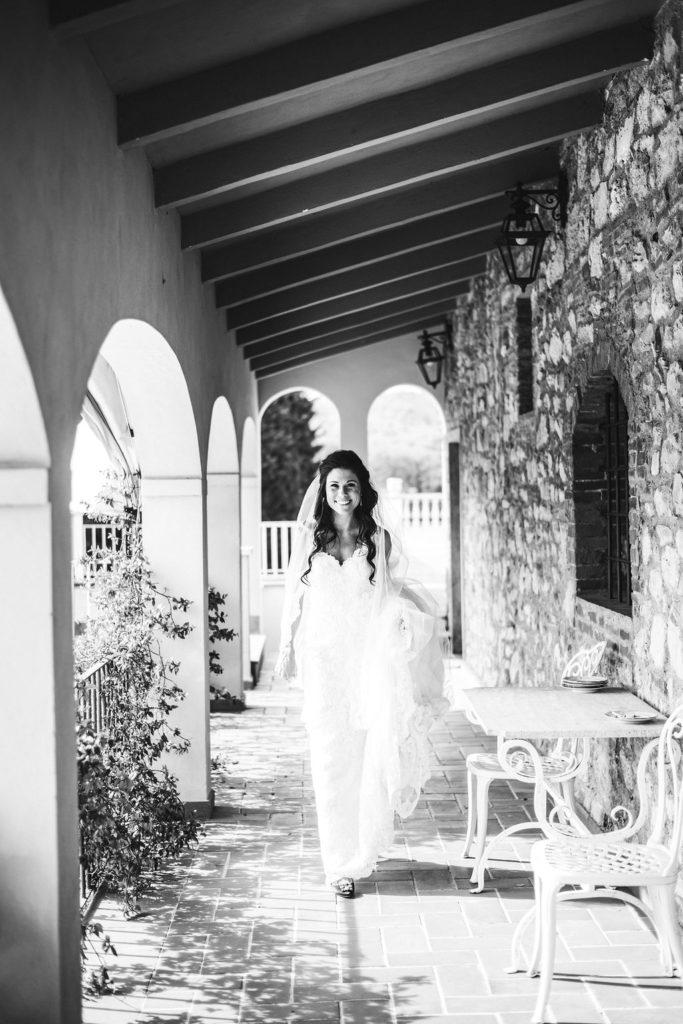Bride - Wedding at Villa La Selva - Italian Wedding Designer