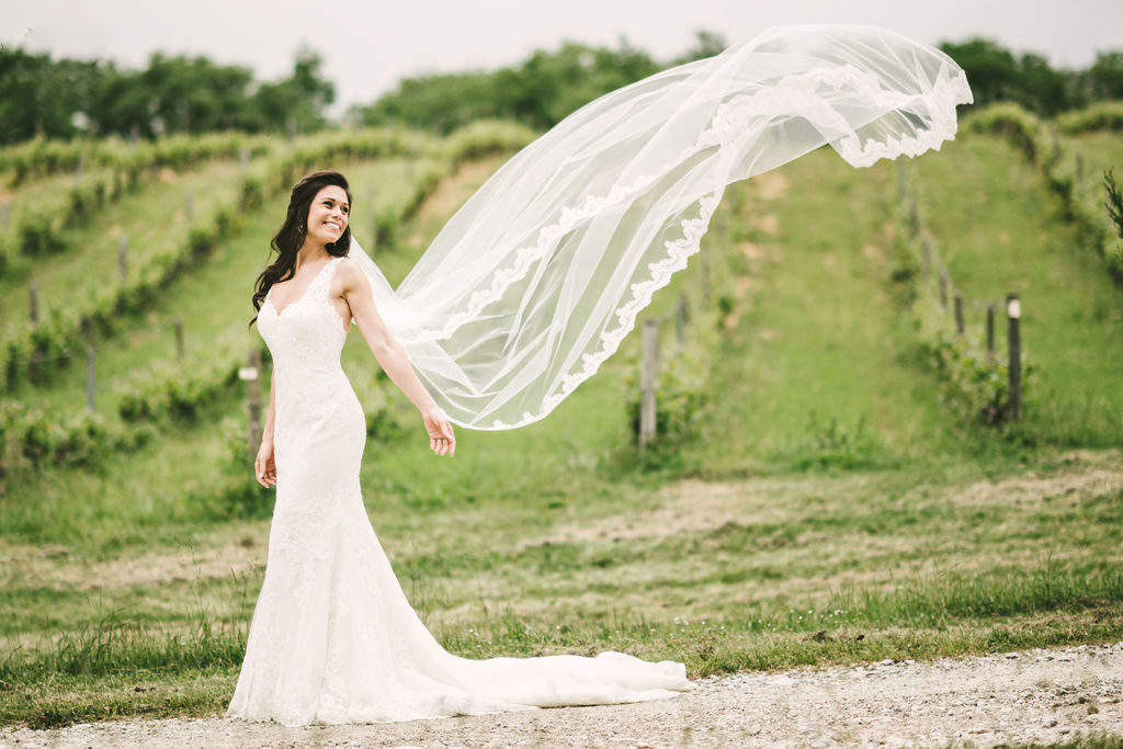 Bride Portrait - Wedding at Villa La Selva - Italian Wedding Designer