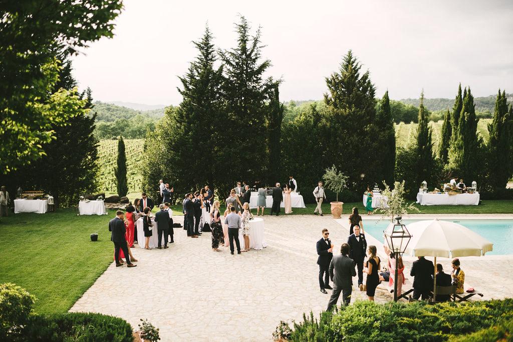 Cocktail - Wedding at Villa La Selva - Italian Wedding Designer