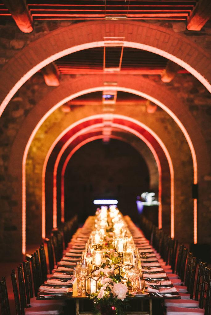 Dinner area - Wedding at Villa La Selva - Italian Wedding Designer