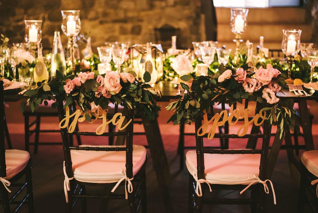 Wedding Decoration - Wedding at Villa La Selva - Italian Wedding Designer