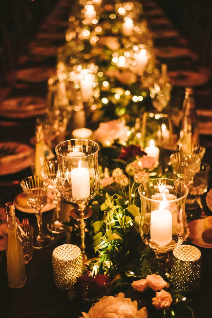 Floral Runner - Wedding at Villa La Selva - Italian Wedding Designer