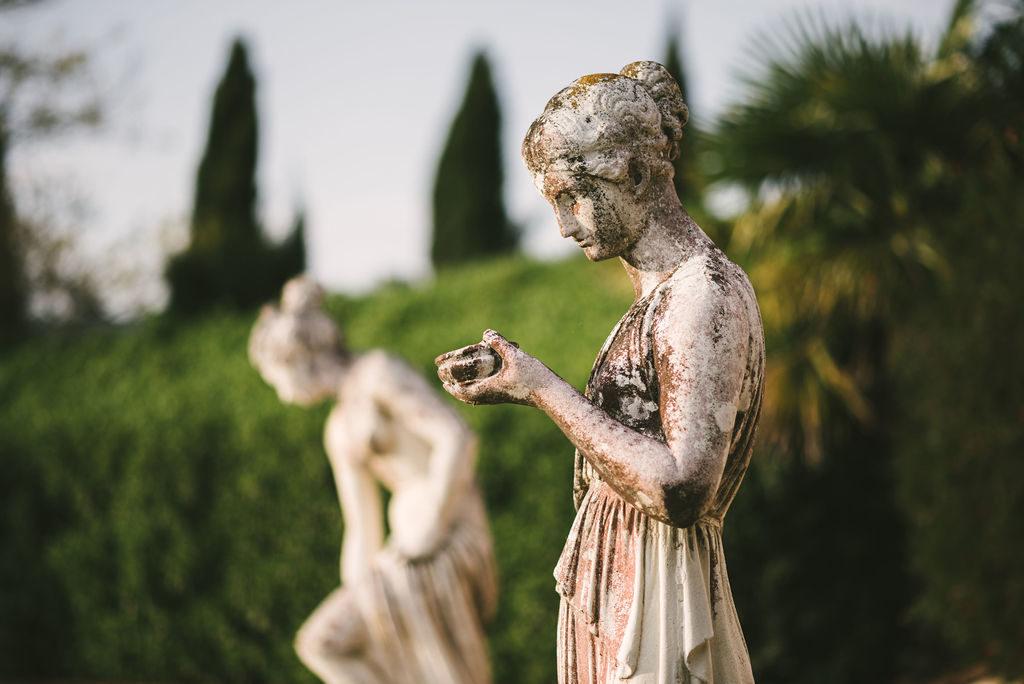 Villa garden - Wedding at Villa La Selva - Italian Wedding Designer