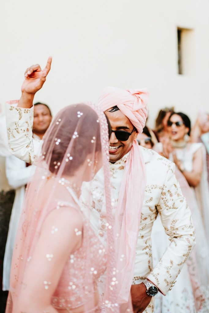 Barat and Milni - Hindu wedding at Hotel Caruso in Ravello - Italian Wedding Designer