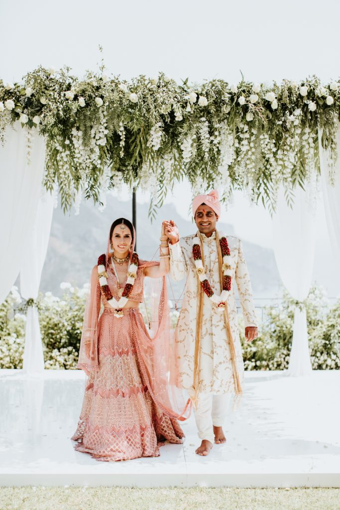 Hindu Mandap - Hindu wedding in Hotel Caruso in Ravello - Italian Wedding Designer