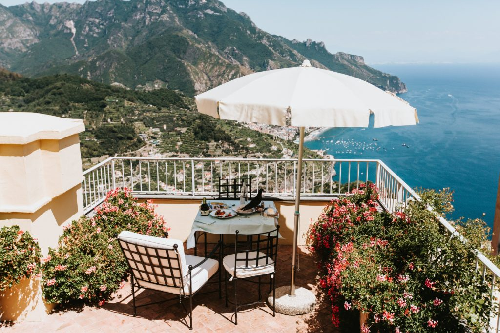Hotel Caruso rooms - Hindu wedding at Hotel Caruso in Ravello - Italian Wedding Designer