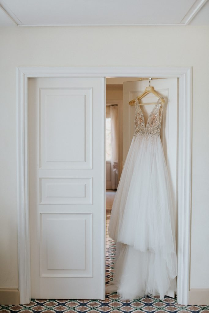 Wedding Dress - Hotel Caruso Wedding - Italian Wedding Designer