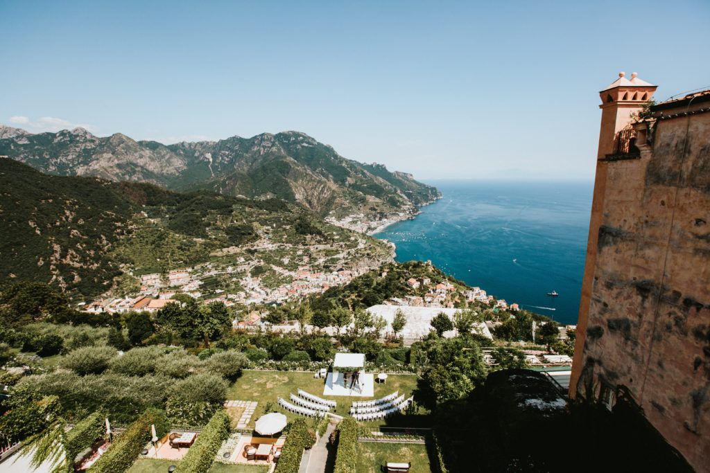 Wedding overlooking the sea - Italian Wedding Designer