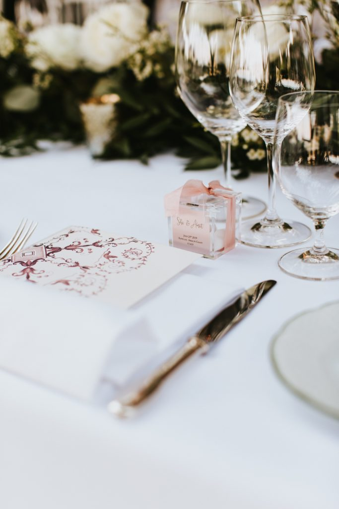 Wedding Table details- Hotel Caruso Wedding - Italian Wedding Designer
